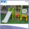 Indoor Playground Slide with Swing and Basketball