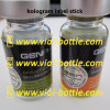 Hologram Laser Label Stick with Printing for Gen Pharma Glass Bottle Vial