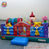 Factory Price Inflatable Clown Bouncer Combo / Inflatable Theme Castle