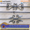 Wrought Iron Flower Panel Balusters