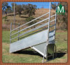 Steel Cattle Loading Ramp Adjustable Hot Sale