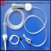 Disposable Infusion Set with Needle Free Injection Site/Precise Flow Regulator Filter safety Butterfly Needle