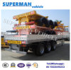 40FT Utilty Container and Cargo Tranport Sidewall Truck Trailer