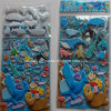 Newest Eco-Friendly PVC 3D Cartoon Puffy Foam Sticker for Kids Qrd-115