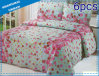 6 Pieces Cotton Print Bedding Quilt (set)