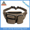 Vintage Canvas Running Cycling Pack Saddlebag Travel Belt Waist Bag