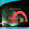 Hot Sale Inflatable Climbing Wall with LED Light