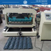 Steel Roof Step Tile Cold Roll Forming Machine