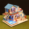 DIY Dollhouse Sewing Kids Kits Craft Educational Room Doll House