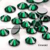 5mm Emerald Nail Art Crystal Glass Rhinestone Glass Beaded Jewellery (FB-SS20 emerald)
