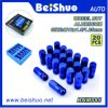 20PCS Blue Color Aluminium Lug Nut Set for Wholesale