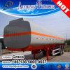 45000L Carbon Steel Fuel Oil Chemical Liquid Tank Truck Trailer for Sale