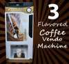 Easy Operation Table Top Instant Coffee Vending Machine F303V