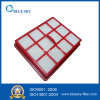 Red Plastic Square HEPA Filter for Hoover Aura2 5001 H5012 W1000 Vacuum Cleaner