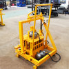 Mini Hollow Mud Brick Machinery Qt40-3c Mobile Block Making Machine Price