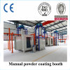 High Quality Manual Powder Coating Booth with Recovery System