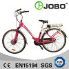 700c Aluminium City Electric Bike 36V 10ah Lady Bike with Rear Rack Li Ion Battery