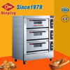 Three Deck Commercial Electric Bread/Toast/Pizza Oven with Ce Certification