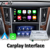 Lsailt Wireless Carplay Interface for Infiniti Q50 Q60 2015-2020 Year Wired Android Auto Youtube Video Music Play