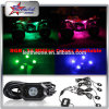 Mini LED Strobe Rock Light, Single Color LED Rock Light 9W LED Heads, IP 68 Waterproof Rock Light