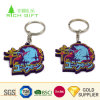 Custom Fashion Promotion Hot 3D Silicone Soft PVC Keychain Cartoon Animal Ball Shoe Reflective Embossed Rubber Key Chain for Advertising Toys Promotional Gift