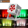 Rgbwauv 6PCS Waterproof DMX LED PAR Can Outdoor Light