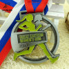 New Design Cut out Alloy Casting Custom Women Running Medals with Ribbon