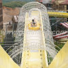 Water Roller Coaster Water Slide for 2 People