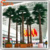 Artificial Potted Fan All Kinds of Palm Leaves Plastic Trees