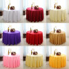 Restaurant Linen Polyester Round Table Cloth/Table Cover