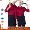 Cook Long-Sleeve Autumn Workwear Chef Uniform of Cotton