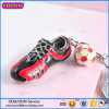 Factory Wholesale Sports Shoe and Football Charm Keychains #15066