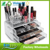 Acrylic Cosmetic Makeup and Jewelry Storage Case Display Organizer with 4 Drawer