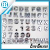 High Quality Adhesive Chrome Letters with ISO/Ts16949 Certified