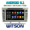 Witson Quad-Core Android 8.1 Car DVD GPS for Peugeot 408 2010-2011 External Microphone Included