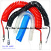 Spiral PU Air Hose with Germany Style Fittings