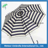 Aluminum Frame Polyester Fabric Side Post Folding Sun Umbrella