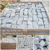 Granite/Basalt/Slate/Bluestone Cobblestone Cube Stone for Walkway/Driveway/Parking Pavers/Paving