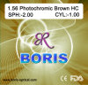1.56 Photochromic Brown Hc 70/65mm Optical Lens
