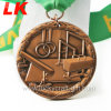 Promotion Gift Custom Customization Honor 3D Antique Award Gymnastics Metal Medal with Ribbon