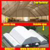 2018 White Polygon Roof Marquee Tent for Brand Ceremony 1000 People Seater Guest