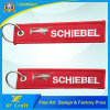 Custom Promotion Cheap Remove Before Flight Embroidery Keychains with Any Logo