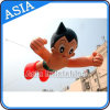 Advertising Inflatable Cartoon Character / Flying Astro Boy