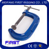 Factory Supplied Cast Iron Heavy Duty G-Clamp