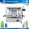Automatic Detergent Lotion Bottle Bottling Filling Machine with Piston