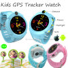 Round Screen Kids GPS Tracker Watch with Sos Function (D14)