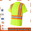 High Visibility Green and Yellow Fluorescent Safety Work Plain T-Shirt