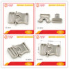 High End Nickel Metal Quick Release Lock Buckle for Backpack/Dog Collar Hardware