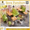 Double Side Restaurant Booth Seating Fast Food Sofa