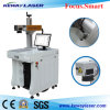 30W Auto Parts Hardware Tools Cards Fiber Laser Marking Machine for Sale